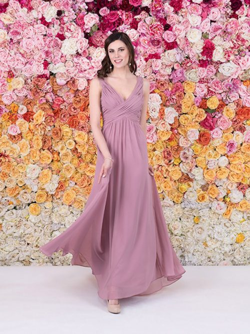 1553 Allure Bridesmaid Sheath Dress