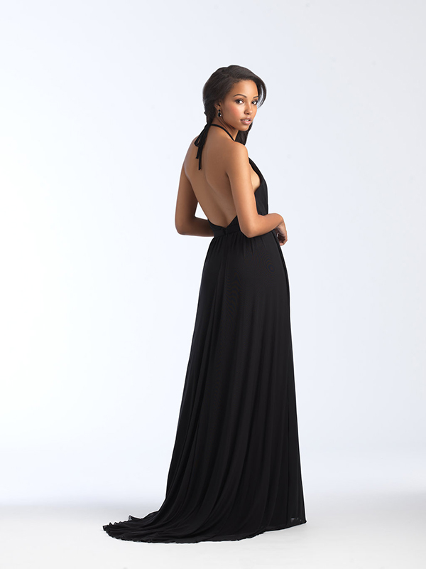 1559 Allure Backless Bridesmaid Dress