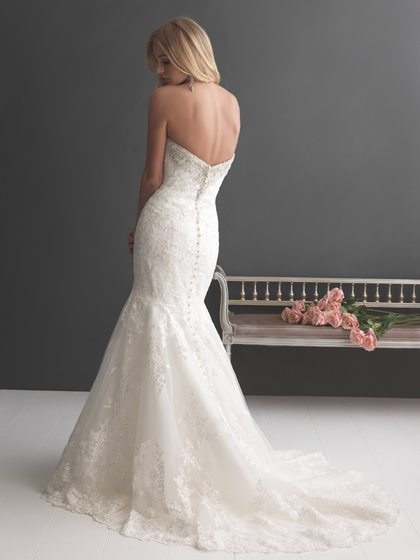 2667 Allure Romance Fit and Flare Wedding Dress