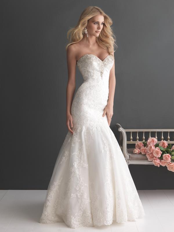 2667 Allure Romance Classically Elegnat Bridal Gown