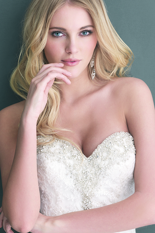 2667 Allure Romace Fit and Flare Bridal Gown