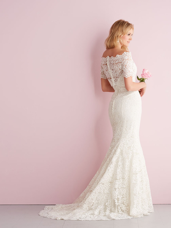 2700 Allure Romace Elegant Sheath Bridal Gown