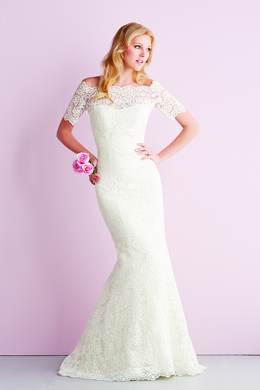 2700 Allure Romace Sheath Bridal Gown