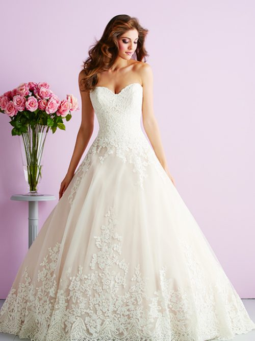 2701 Allure Romace Classic Bridal Gown