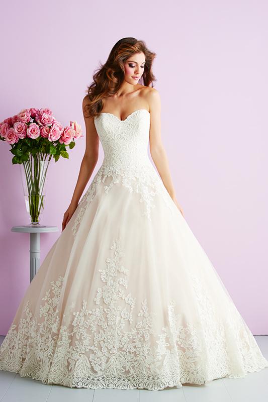 2701 Allure Romace Classic Bridal Gown