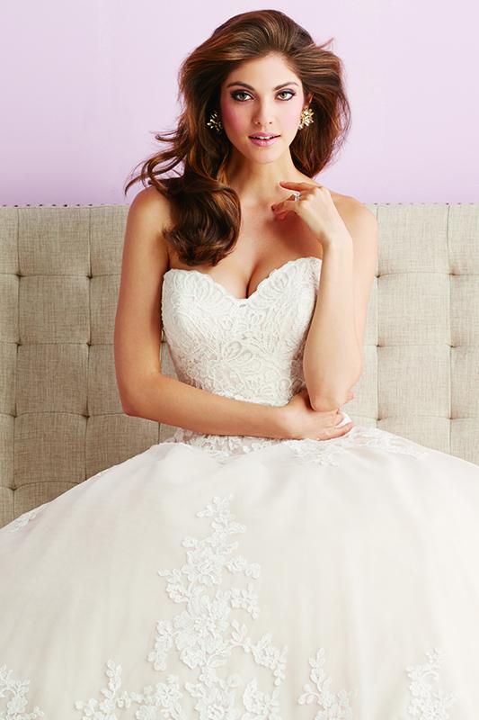 2701 Allure Romace Elegant Bridal Gown