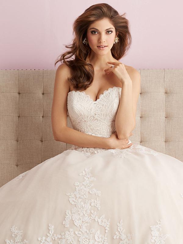 2701 Allure Romance Elegant Ballgown