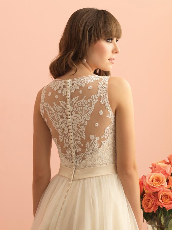 2716 Allure Romance Elegant Wedding Dress