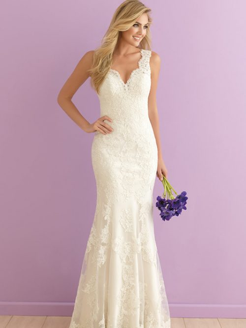 2901 Allure Romance Sheath Bridal Gown