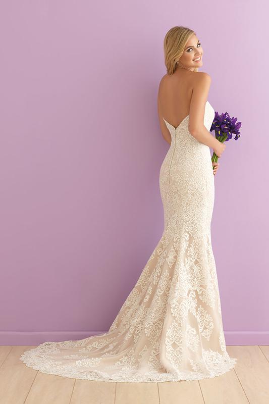 2903 Allure Romance Sheath Bridal Gown