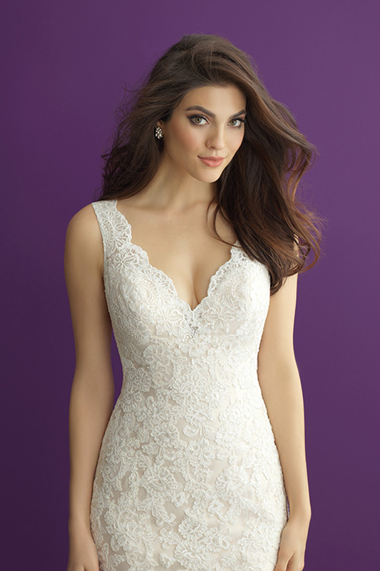2956 Allure Romance Classic Wedding Dress