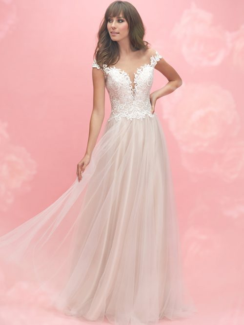3052 Allure Romance Modern Bridal Gown