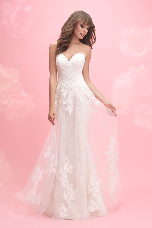 3057 Allure Romance Fit and Flare Bridal Gown