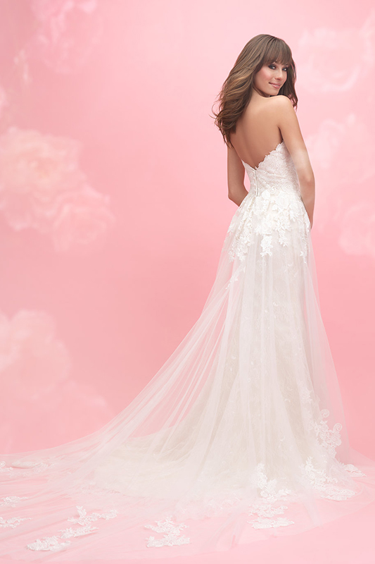 3057 Allure Romance Sheath Bridal Gown