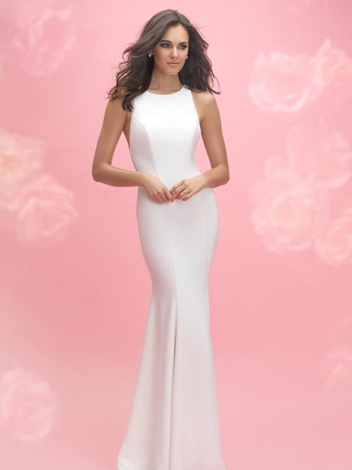3063 Allure Romance Sheath Bridal Gown