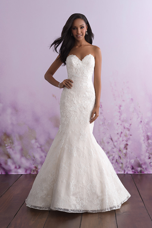 3111 Allure Romance Fit and Flare Bridal Gown