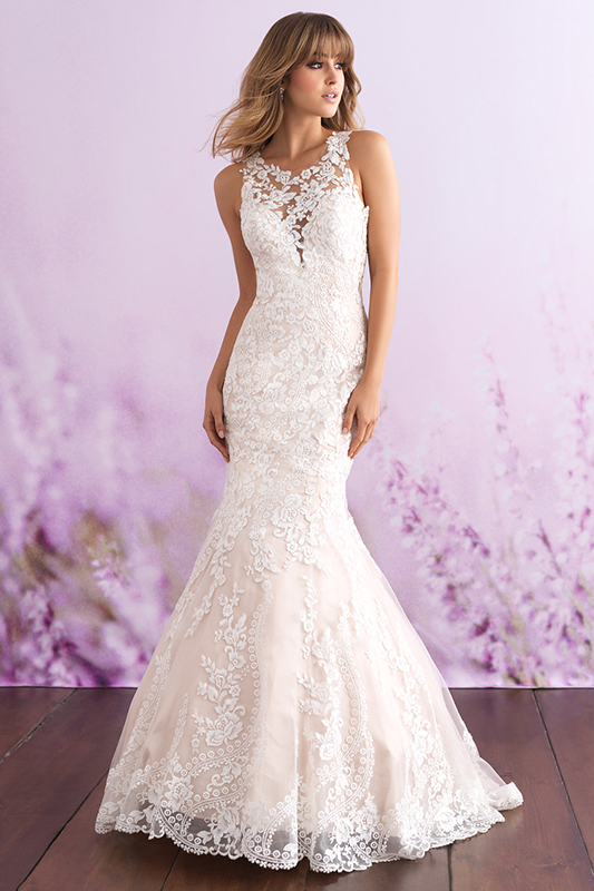 3115 Allure Romance Sheath Bridal Gown