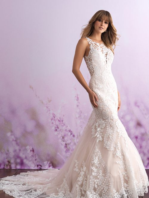 3115 Allure Romance Modern Bridal Gown