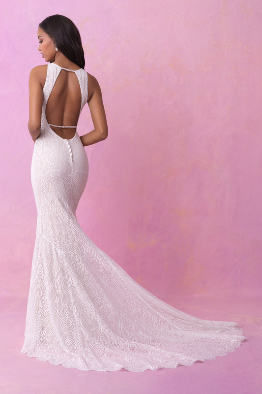 3155 Allure Romance Sheath Bridal Gown
