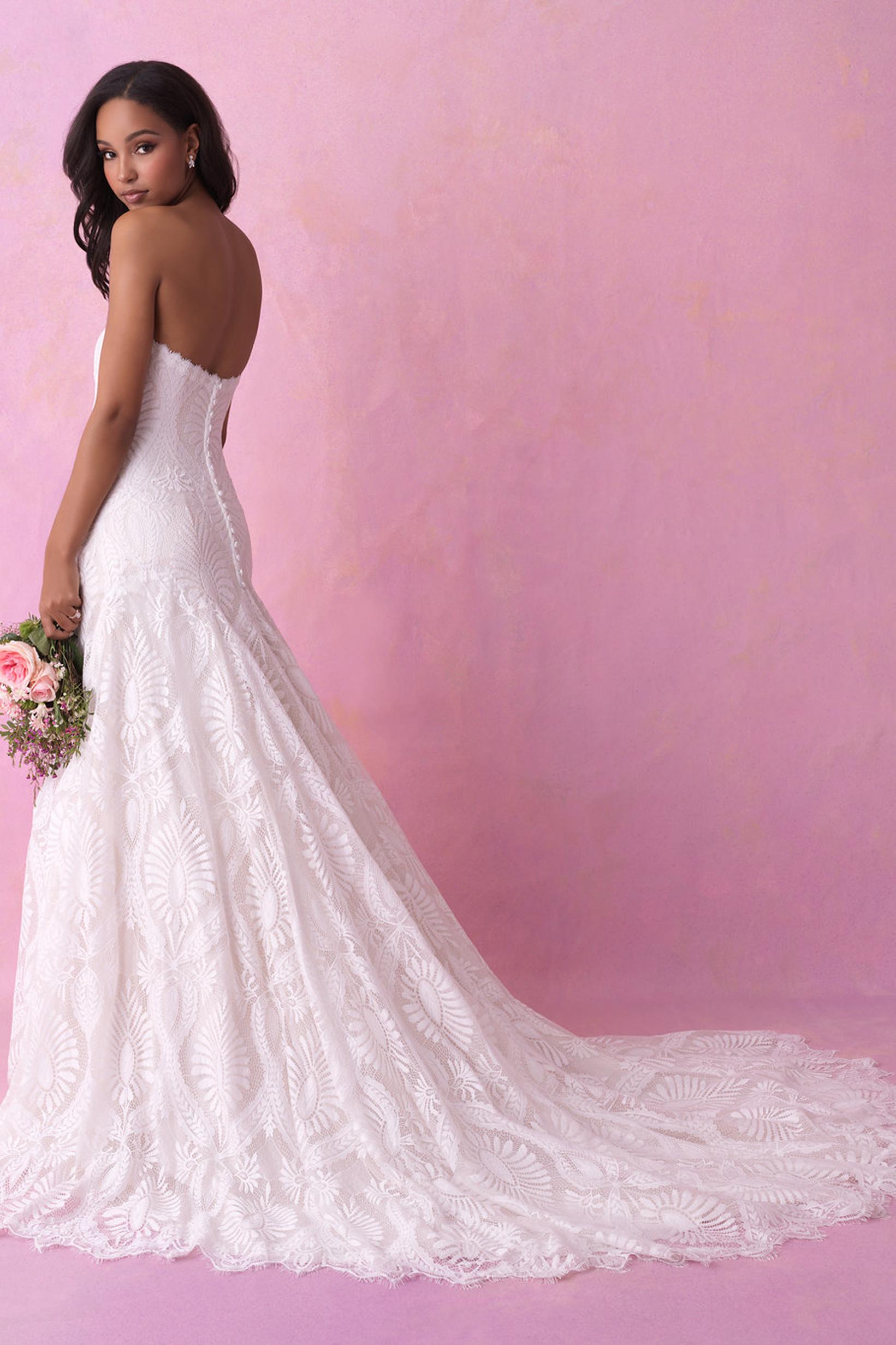 3158 Allure Romance Boho Princess Bridal Gown