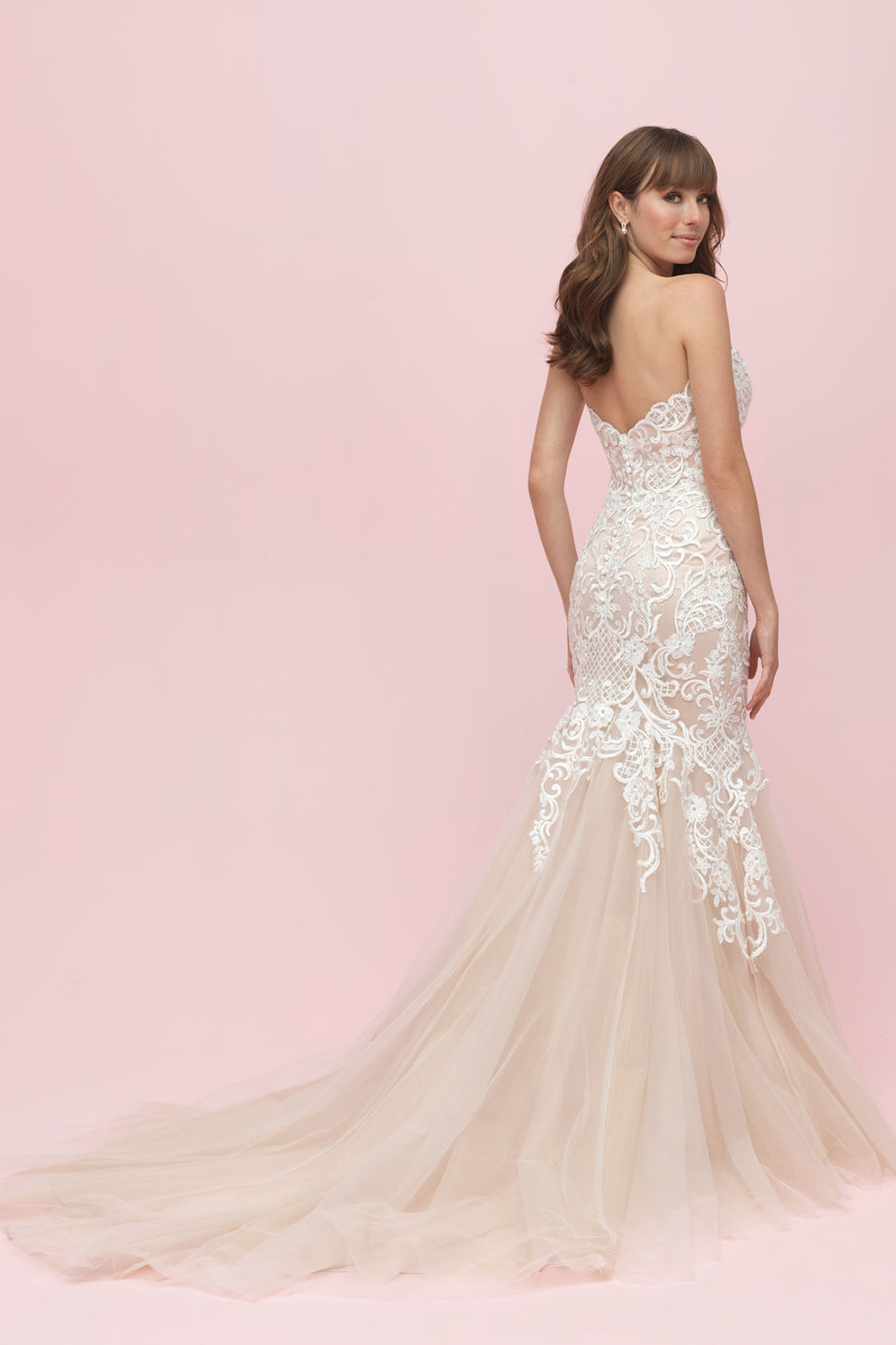 3200 Allure Romance Fit and Flare Bridal Gown