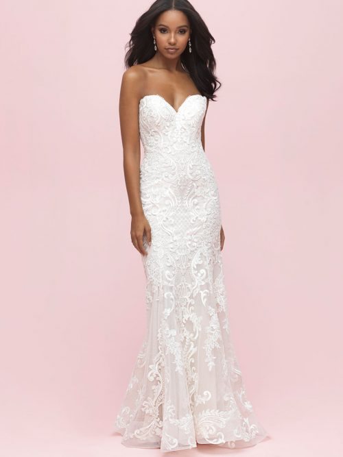 3208 Allure Romance Sheath Bridal Gown