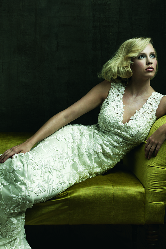 8800 Allure Bridal Boho Wedding Dress