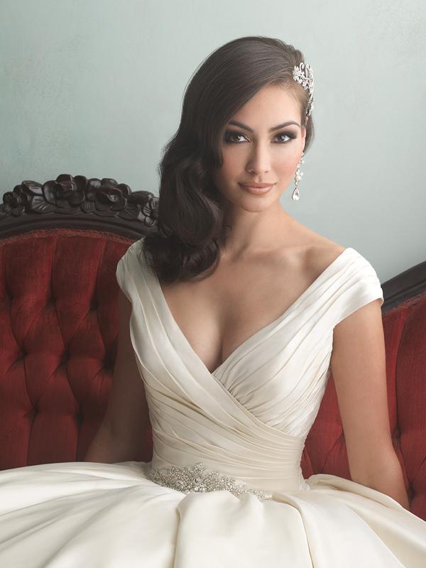 9155 Allure Bridals Classic Ballgown