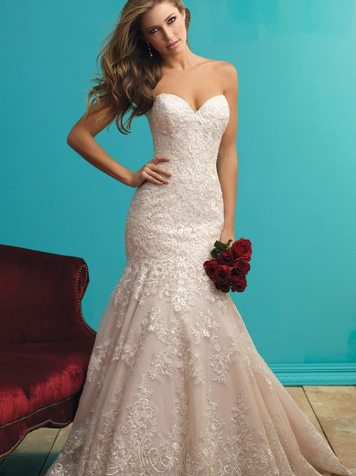 9261 Allure Bridals Bridal Gown