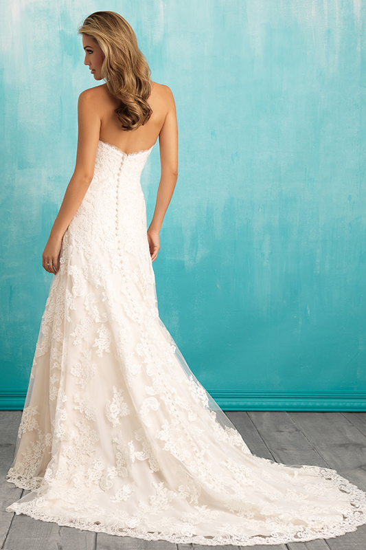 9309 Allure Bridals Classic Wedding Dress