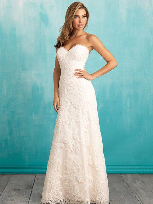 9309 Allure Bridals Wedding Dress