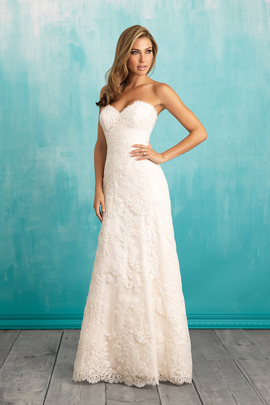 9309 Allure Bridals Wedding Dress