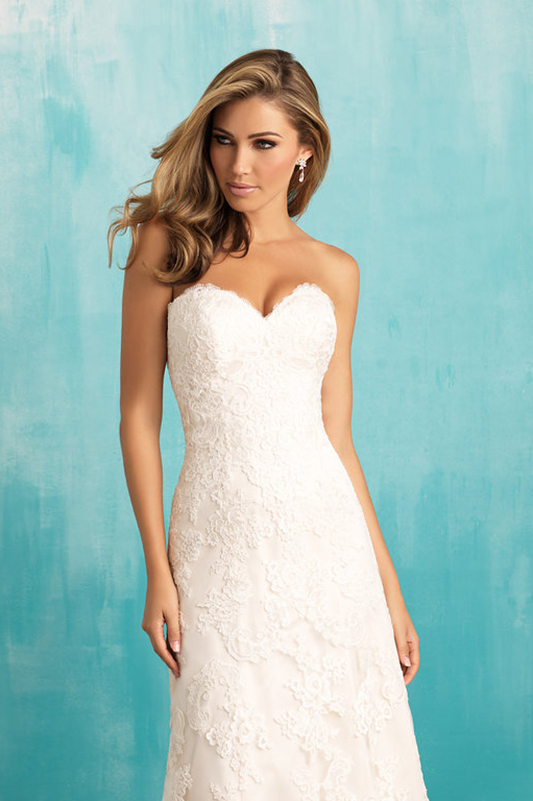 9309 Allure Bridals Elegant Wedding Dress