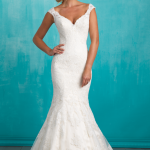 9322 Allure Bridals Classic Elegance Wedding Dress
