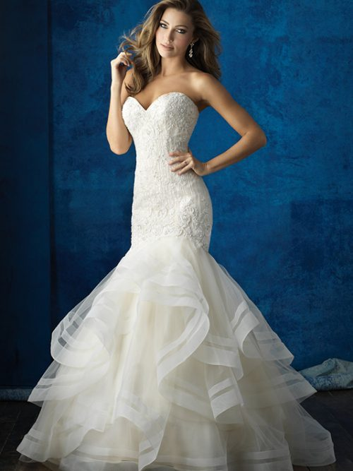 9364 Allure Bridals Modern Wedding Dress