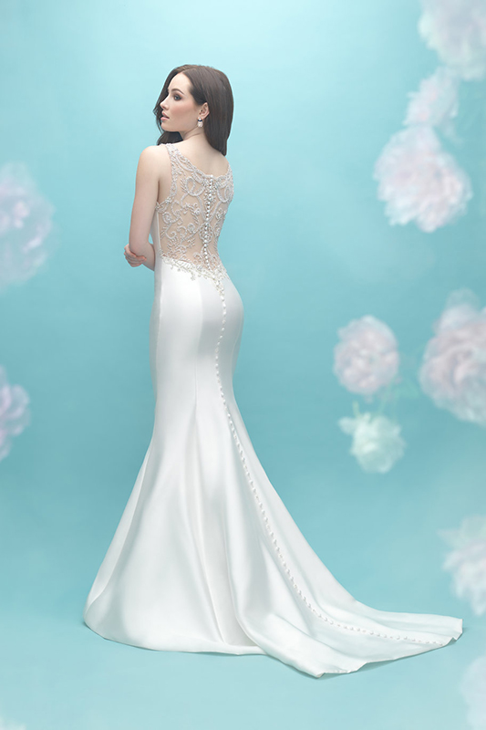 9451 Allure Bridals Modern Wedding Dress