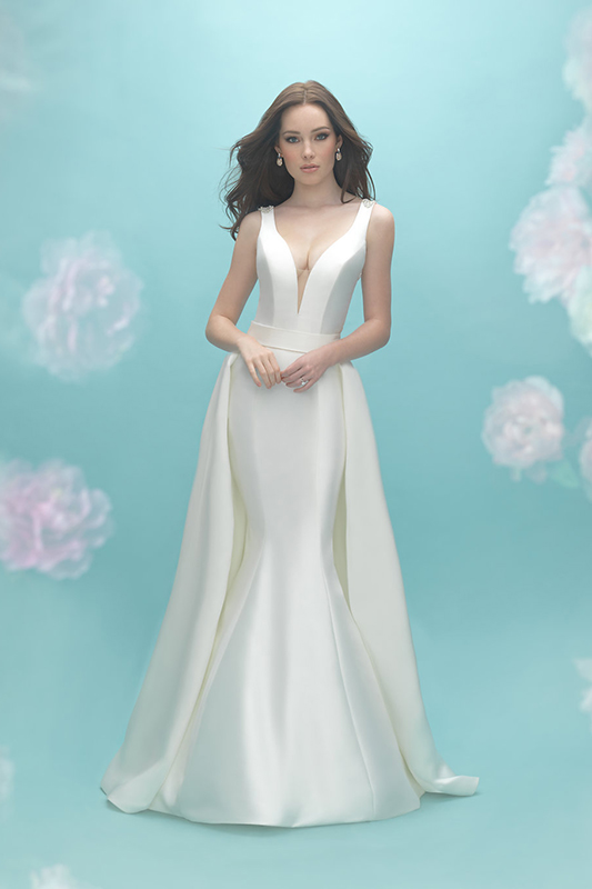 9451 Allure Bridals Sheath Wedding Dress
