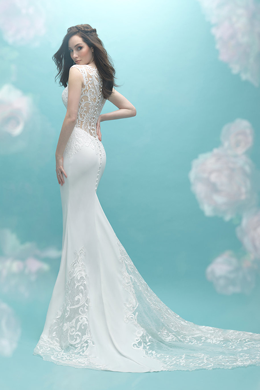 9469 Allure Bridals Modern Wedding Dress