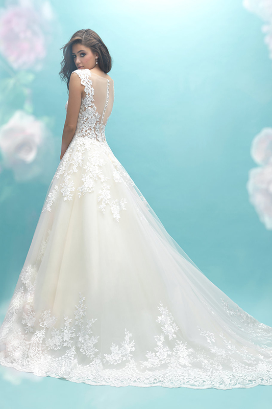 9470 Allure Bridals Elegant Wedding Dress