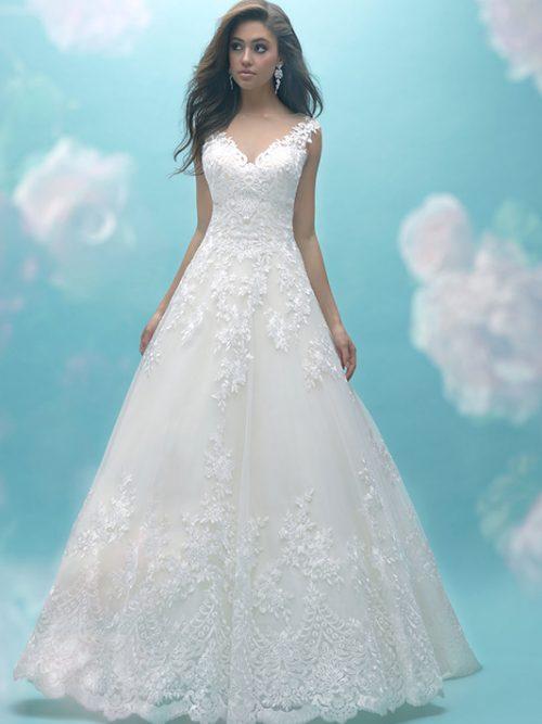 9470 Allure Bridals Classic Wedding Dress