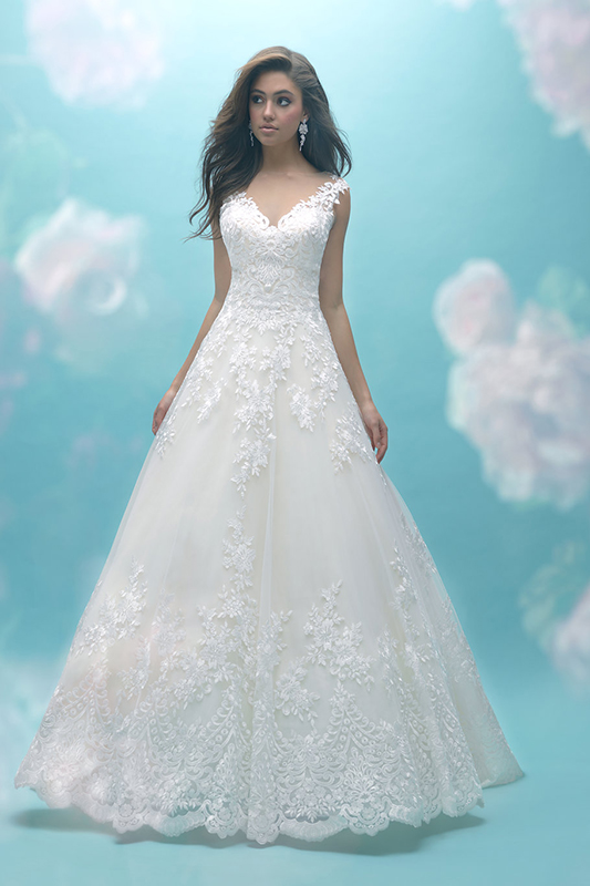 9470 Allure Bridals Classic Wedding Dress