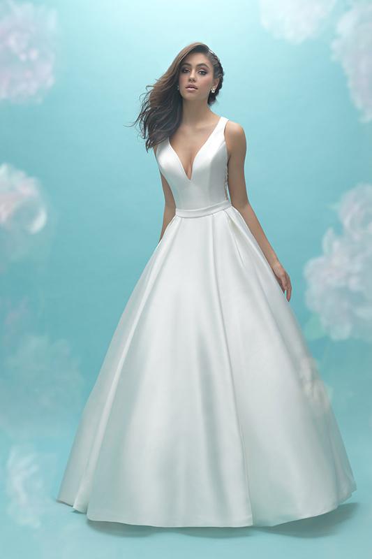 9473 Allure Bridals Modern Wedding Dress