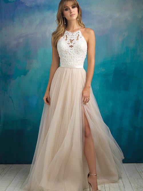 9509 Allure Bridals Modern Wedding Dress