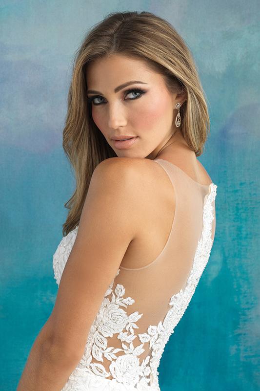9510 Allure Bridals Designer Wedding Dress