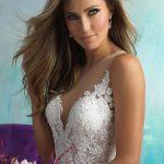 9510 Allure Bridals Modern Princess Wedding Dress