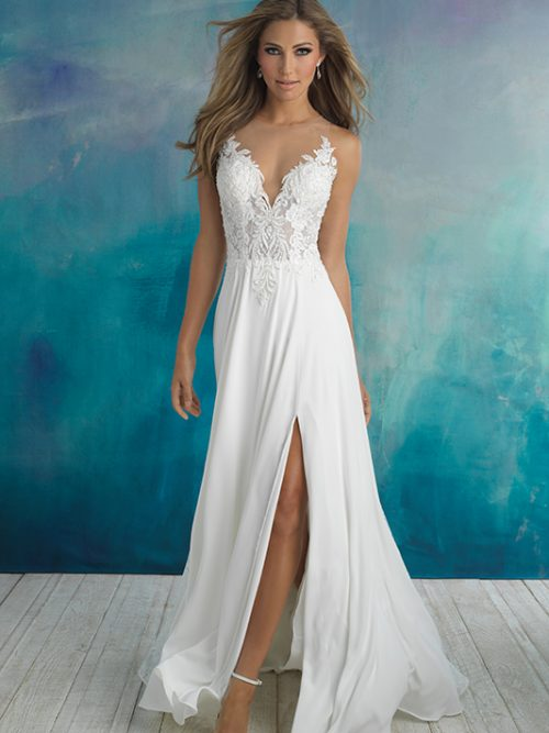9510 Allure Bridals Modern Wedding Dress