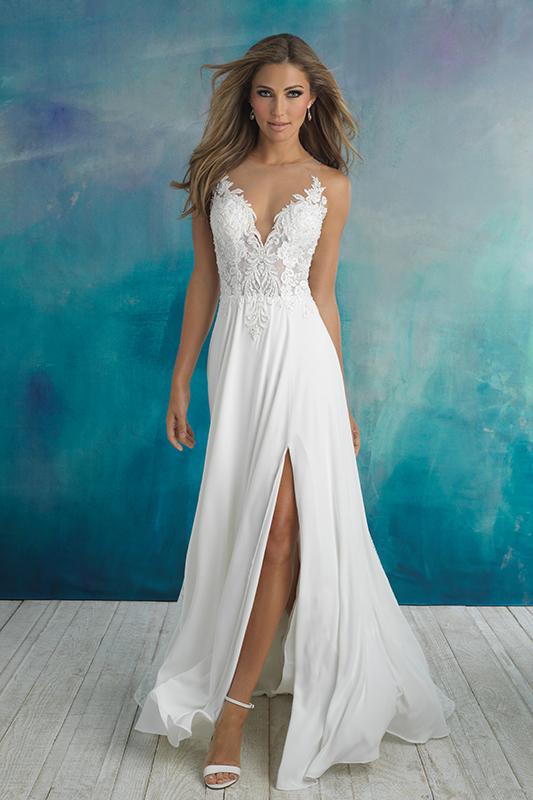 9510 Allure Bridals Modern Wedding Dress