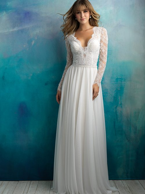 9515 Allure Bridals Elegant Wedding Dress