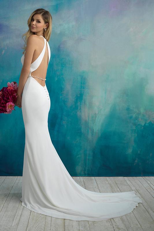 9521 Allure Bridals Sheath Wedding Dress
