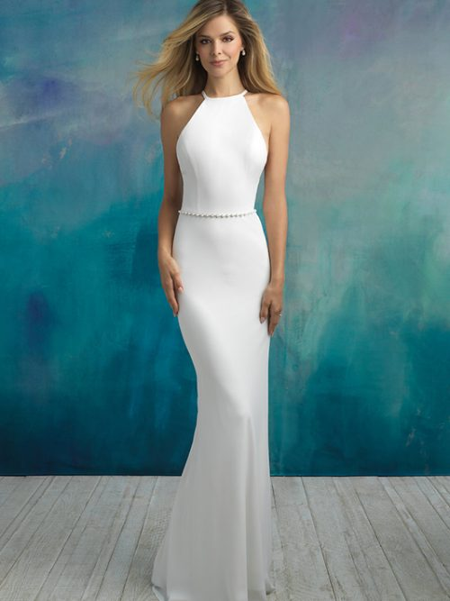 9521 Allure Bridals Modern Wedding Dress